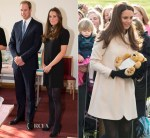 Catherine, Duchess of Cambridge In Topshop & Goat - Child Bereavement UK Visit