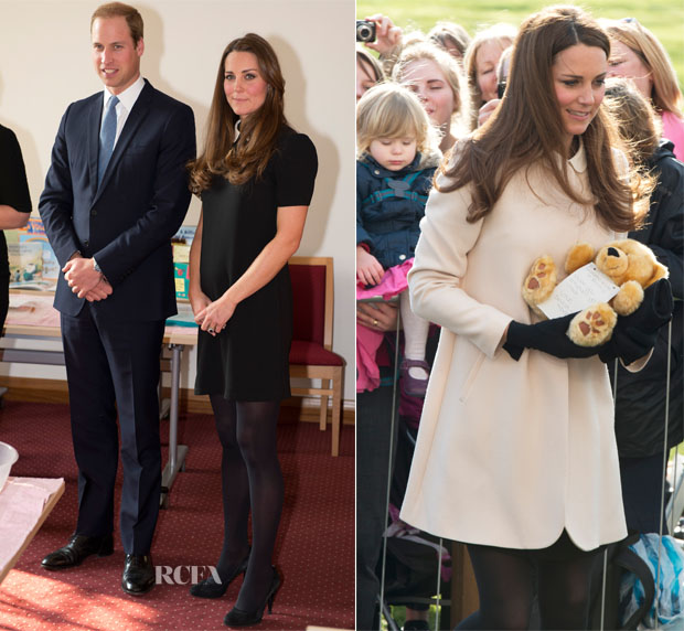 Catherine, Duchess of Cambridge In Topshop & Goat - Child Bereavement UK Visit