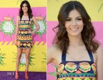 Victoria Justice In Pia Pauro - 2013 Nickelodeon Kids' Choice Awards