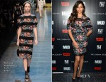 Camila Alves In Dolce & Gabbana - 'Mud' New York Screening