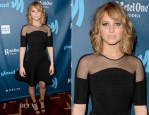 Jennifer Lawrence In David Koma - 24th Annual GLAAD Media Awards