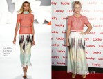 Julianne Hough In Carolina Herrera - Second Annual FABB West Opening Night Cocktail Party