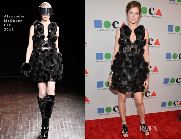 Stephanie Seymour In Alexander McQueen - 2013 MOCA Gala
