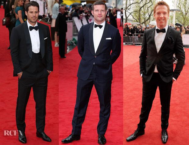 British Academy Television Awards 2013 Menswear