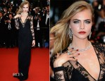 Cara Delevingne In Burberry - 'The Great Gatsby' Premiere & Cannes Film Festival Opening Ceremony