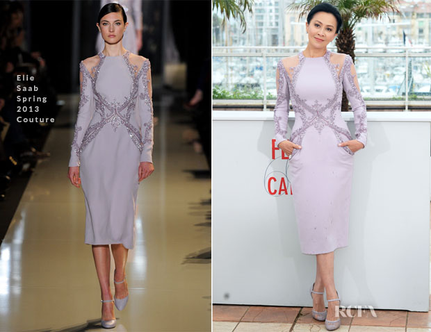 Carina Lau In Elie Saab Couture – 'Bends' Cannes Film Festival Photocall
