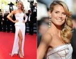 Heidi Klum In Versace - 'Nebraska' Cannes Film Festival Premiere