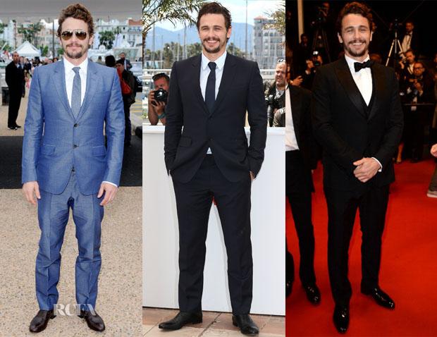 James Franco's Cannes Film Festival Style
