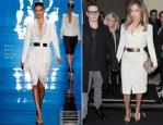Jennifer Lopez In Reem Acra - En Route To 'The Graham Norton Show'