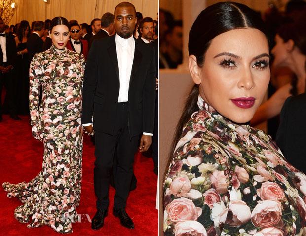Kim Kardashian Givenchy - 2013 Met Gala