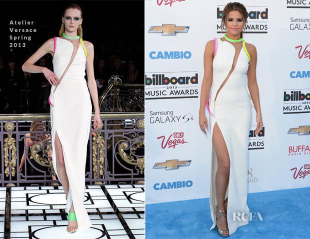 Selena Gomez In Atelier Versace - 2013 Billboard Music Awards