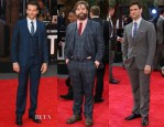 'The Hangover III' London Premiere Menswear Round Up