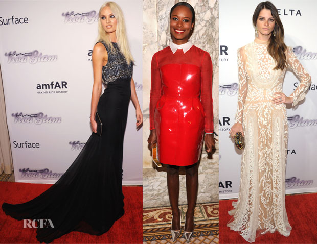 4th Annual amfAR Inspiration Gala New York Red Carpet Round Up 2