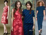 Allison Williams In Jonathan Saunders & Zosia Mamet In Marc by Marc Jacobs - 'Girls' New York Press Conference