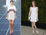 Emma Roberts In Chanel - Chanel Dinner For NRDC 'A Celebration Of Art, Nature And Technology'