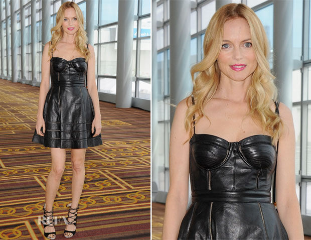 Heather Graham In Kymerah Sora - Echoes Of Hope's 3rd Annual Luc Robitaille Celebrity Charity Poker Tournament