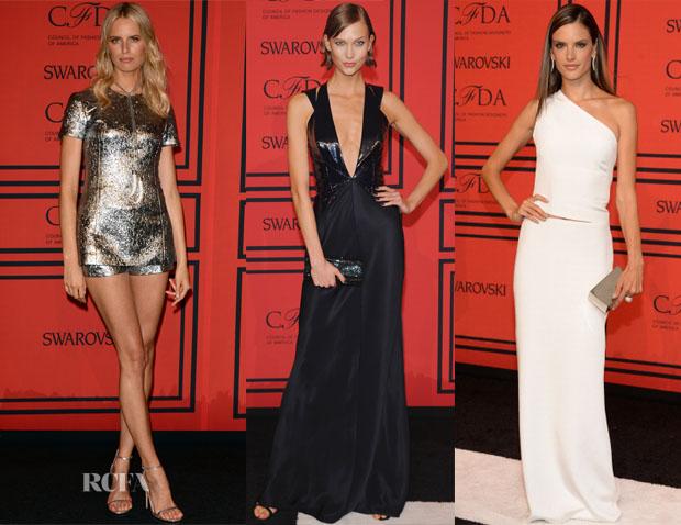 Models @ 2013 CFDA Fashion Awards 2