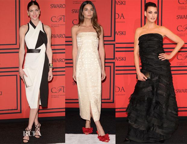 Models @ 2013 CFDA Fashion Awards 5