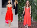 Natalie Portman In Christian Dior - Benjamin Millepied's L.A. Dance Project Inaugural Benefit Gala