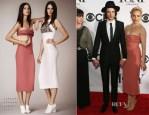 Sienna Miller In Burberry Prorsum - 2013 Tony Awards