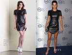 Angie Harmon In Azede Jean-Pierre - TNT's 25th Anniversary Party
