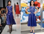 Katy Perry In Tadashi Shoji - 'The Smurfs 2' LA Premiere