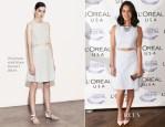 Olivia Munn In Thakoon Addition -L'Oreal USA Women In Digital 'NEXT' Generation Awards