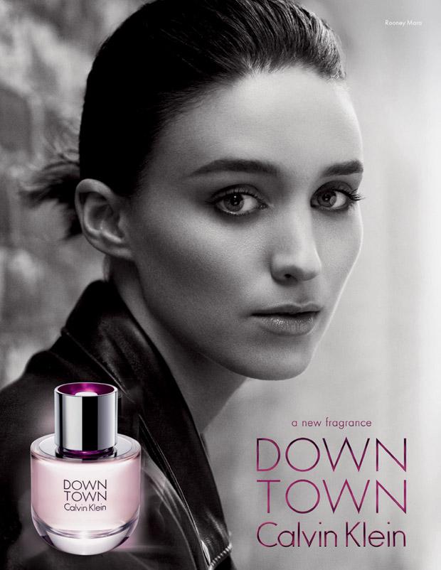 Rooney Mara Downtown Calvin Klein
