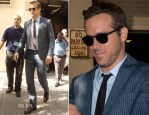 Ryan Reynolds In Etro - Live with Kelly & Michael