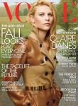 Claire Danes for Vogue US August 2013