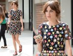 Alexa Chung In Kenzo - Out In New York City