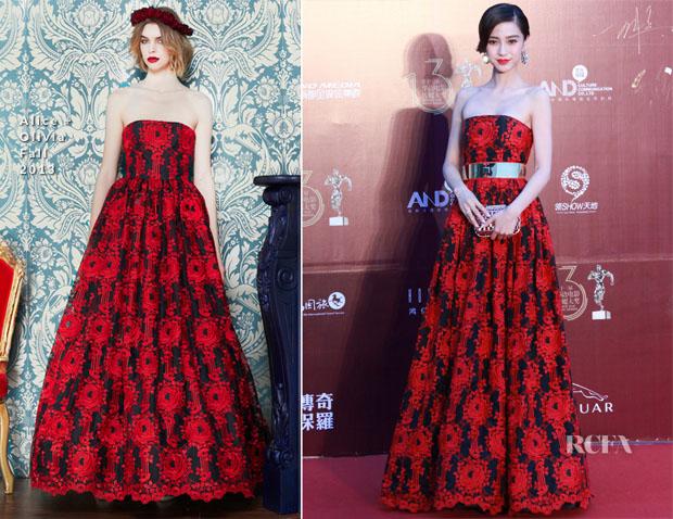 Angelababy In Alice + Olivia -  13th Chinese Film Media Awards