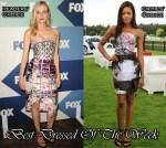 Best Dressed Of The Week - Diane Kruger and Naomie Harris In Mary Katrantzou