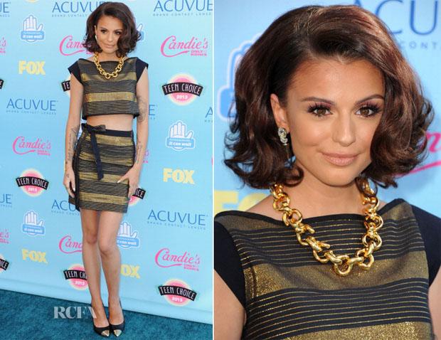 Cher Lloyd In The Hellers - 2013 Teen Choice Awards