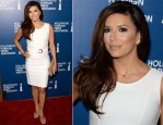 Eva Longoria In Gucci - Hollywood Foreign Press Association's 2013 Installation Luncheon