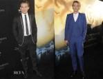 Kevin Zegers In Dior Homme & Jamie Campbell Bower In Alexander McQueen  - 'The Mortal Instruments: City Of Bones' LA Premiere