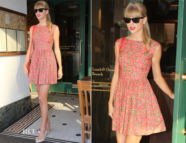 Taylor Swift In Contrarian New York - Dinner at The Farm