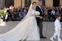 Princess Claire Of Luxembourg in Elie Saab Couture