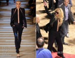 Britney Spears In Alexandre Vauthier Couture & Chagoury - Planet Hollywood Residency Announcement