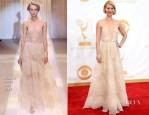 Claire Danes In Armani Privé - 2013 Emmy Awards