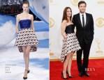 Jason Bateman In Dior Homme & Amanda Anka In Christian Dior - 2013 Emmy Awards