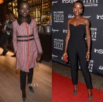 Lupita Nyong'o In Moschino & Veroncia Beard - TIFF HFPA/InStyle Party