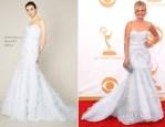Malin Akerman In Marchesa - 2013 Emmy Awards
