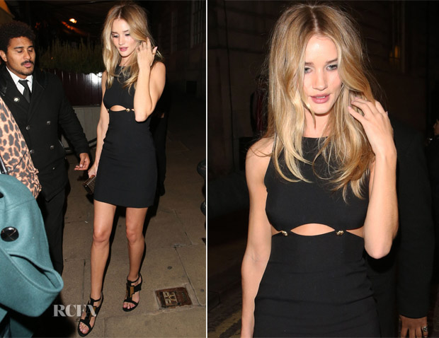 Rosie Huntington-Whiteley In Versace - Another Magazine Party
