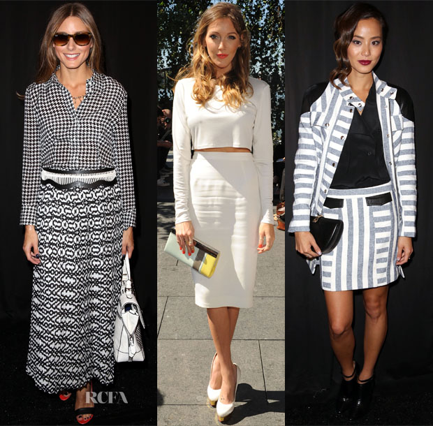 Spring 2014 New York Fashion Week Front Row – Day 2 (2)