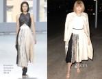 Anna Wintour In Proenza Schouler - Vogue CFDA Fashion Fund Dinner