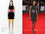 Lupita Nyong'o In Christopher Kane - '12 Years A Slave' London Film Festival Premiere