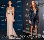 Best Dressed Of The Week - Kate Hudson In Gucci & Gisele Bundchen In Atelier Versace