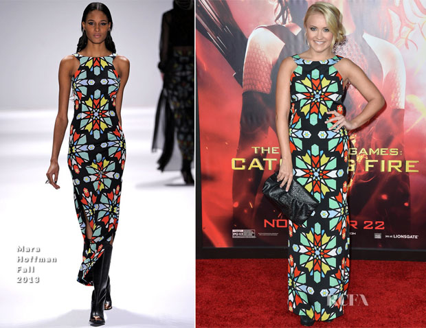 Emily Osment In Mara Hoffman - 'The Hunger Games Catching Fire' LA Premiere