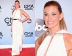 Faith Hill In Lanvin - 2013 CMA Awards